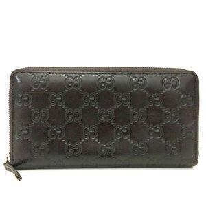 Auth Gucci Guccissima Gg Leather Zip #1821G12